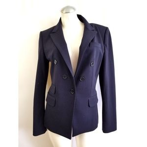 Express Size 10 Blue Blazer Jacket